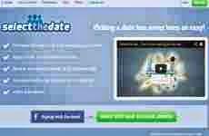 SelectTheDate: permite a un grupo de personas seleccionar fechas online para planificar reuniones y organizar eventos