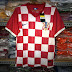 Jersey Kroasia home 2014 world cup
