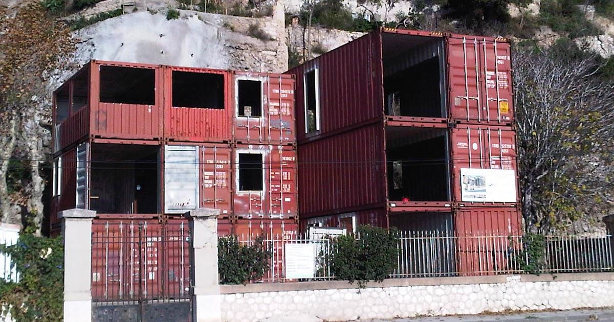 transformation container habitation conteneur tcsi la maison en conteneur de l 39 estaque. Black Bedroom Furniture Sets. Home Design Ideas