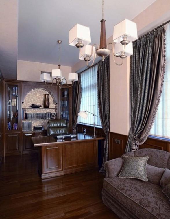 Two Storey Neoclassical Apartment Interior Design