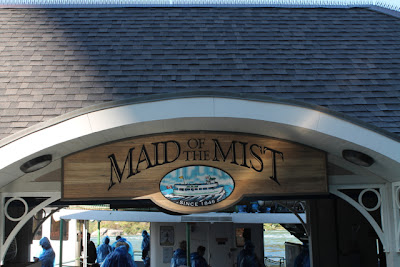Maid of the Mist sign