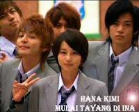 Hana Kimi Drama Asia Diangkat Dari Manga Jepang | Para Pemain Hana Kimi Drama Asia Terbaru Indosiar