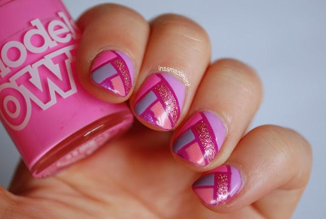 Pink Fishtale Braid Nail Art Tutorial