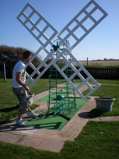 Crazy Golf at West Sands Holiday Park, Selsey