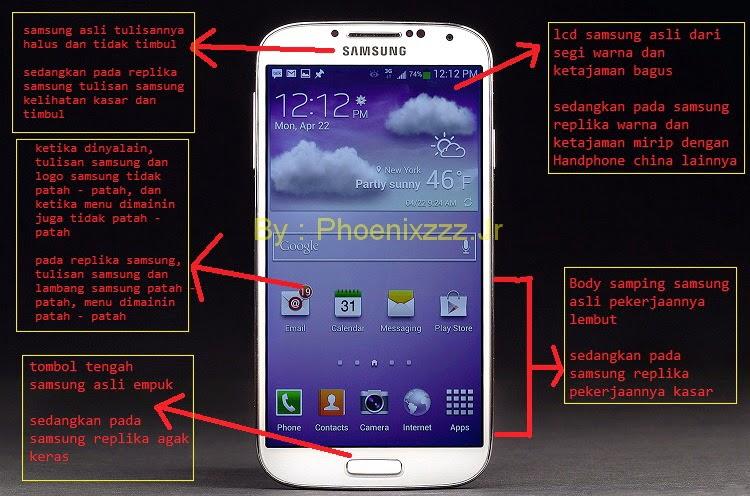samsung galaxy S4 asli memiliki wrapping plastik dengan logo Samsung ...