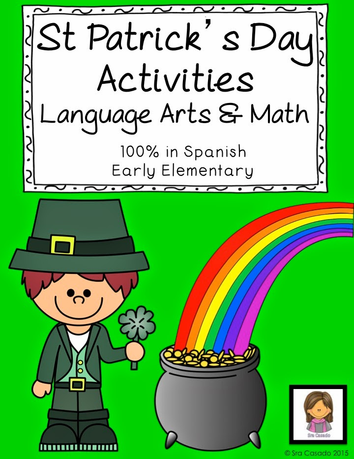 Sra Casado Teaches Bilinguals: St. Patrick's Day...In Spanish!