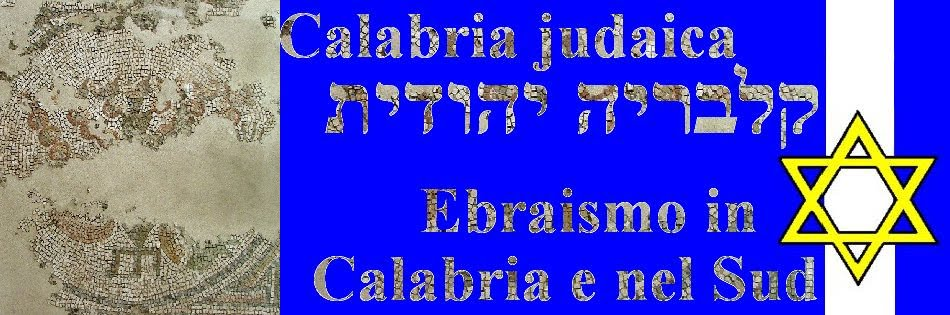 Calabria judaica~ Sud ebraico קלבריה יהודית