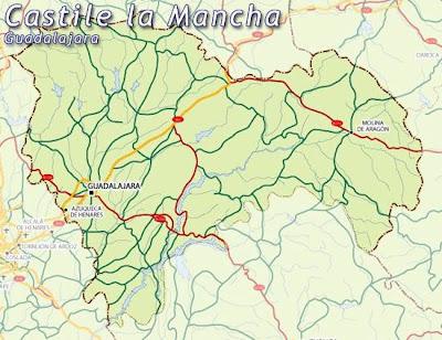 Guadalajara Mapa Ciudad de la Región