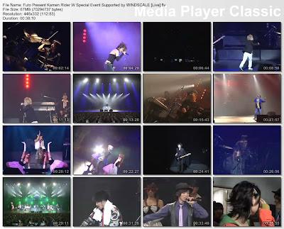 [CONCERT] Kamen Rider W Special Event