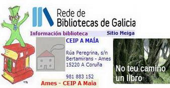 """FONDOS DA BIBLIOTECA DO CEIP """"A MAÍA"""""""