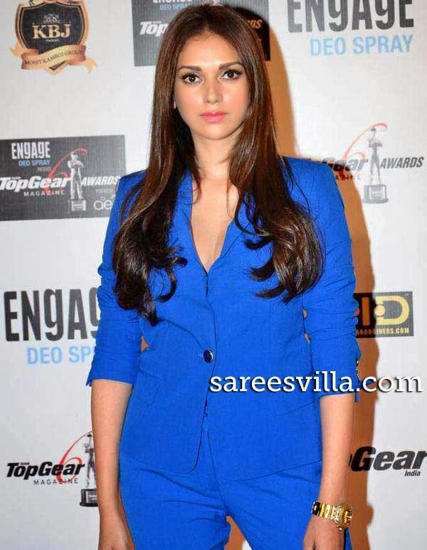 Aditi Rao Hydari at 6th Top Gear Awards 2014