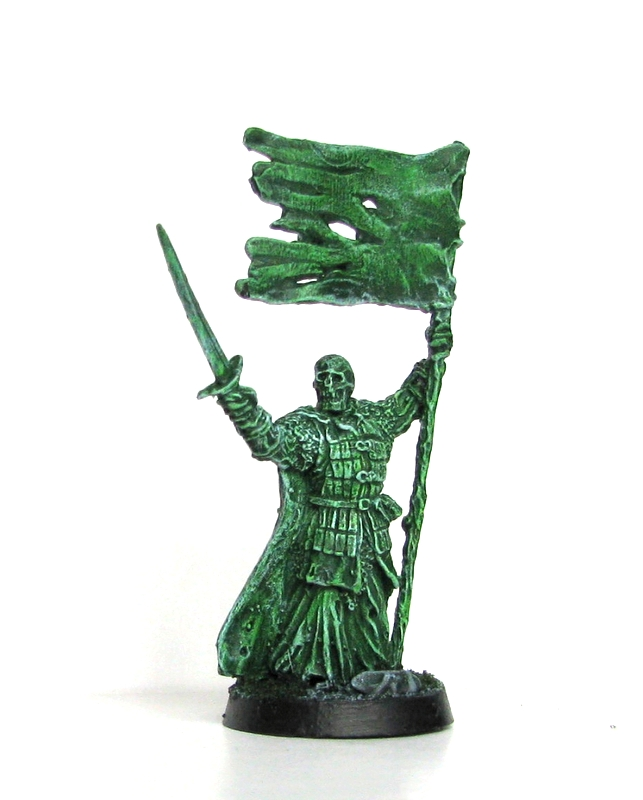 LotR Miniatures Banner army of the dead