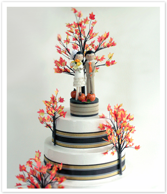 Autumn Cake Toppers4