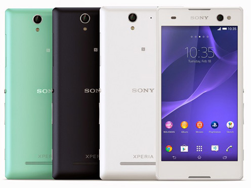 "Spesifikasi & Harga Sony Xperia C3, Smartphone 5.5"" Bravia RAM 1 GB"