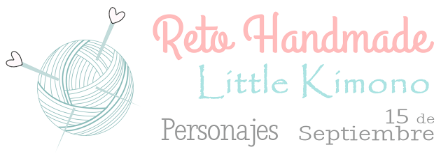 Reto handmade: personajes.
