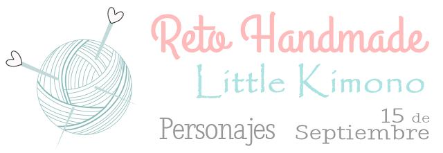 Reto handmade: personajes.