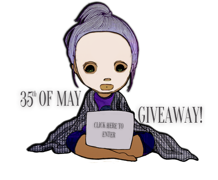35th of May Giveaway banner
