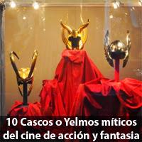 10 cascos y yelmos míticos del cine de acción y fantasia.