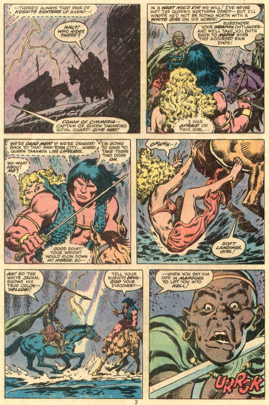 Conan the Barbarian (1970) Issue #108 #120 - English 3