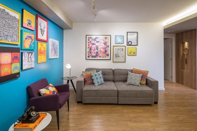 Apartamento moderno de 70 metros cuadrados arquitexs for Decoracion de interiores apartamentos modernos