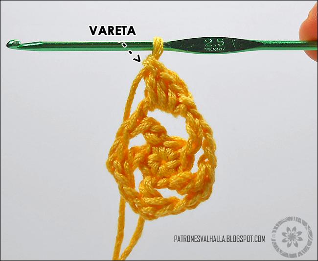 Estrella a Crochet #3 (foto-tutorial) - PATRONES VALHALLA: Patrones ...