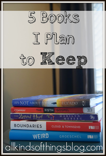 5 Books I Plan to Keep
