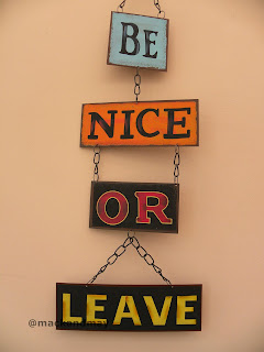 be nice or leave photo