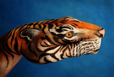 Unbelievable Animal Hand Paintings
