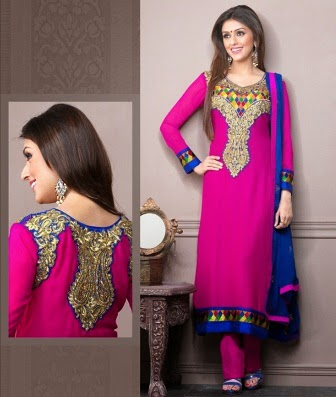 latest anarkali suits 2014