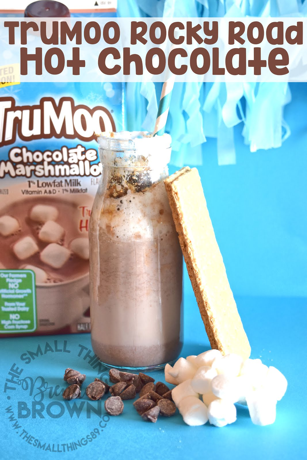 Try It Hot! TruMoo Chocolate Marshmallow Milk!