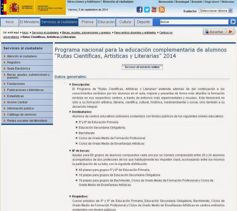 http://www.mecd.gob.es/servicios-al-ciudadano-mecd/catalogo-servicios/becas-ayudas-subvenciones/centros-docentes-entidades/no-universitarios/rutas-cientificas-artisticas-literarias.html
