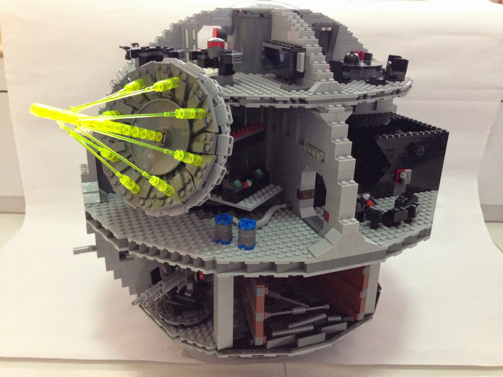 The Marriage Of Lego And Star Wars Review 10188 Death Star