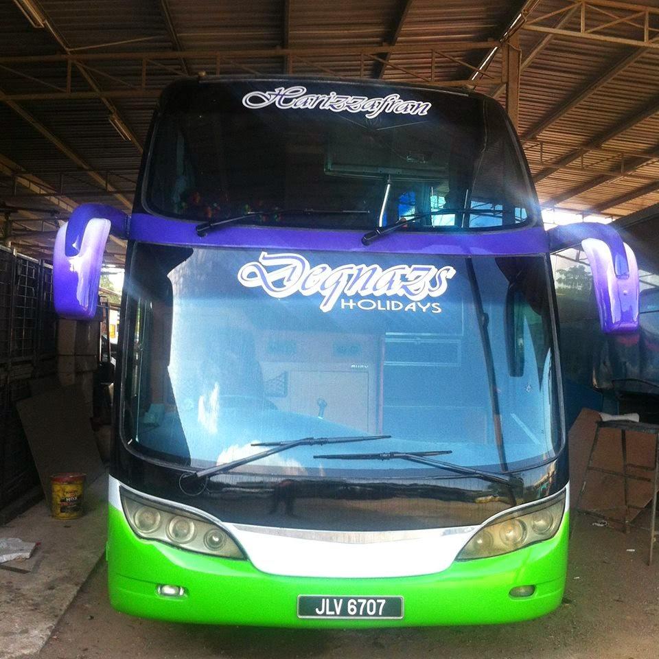 bus hi-deck 44 seater + sofa led 42'