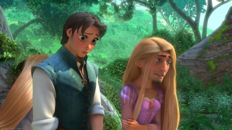 de muchas más imágenes con intercambio de caras : Disney Face Swap