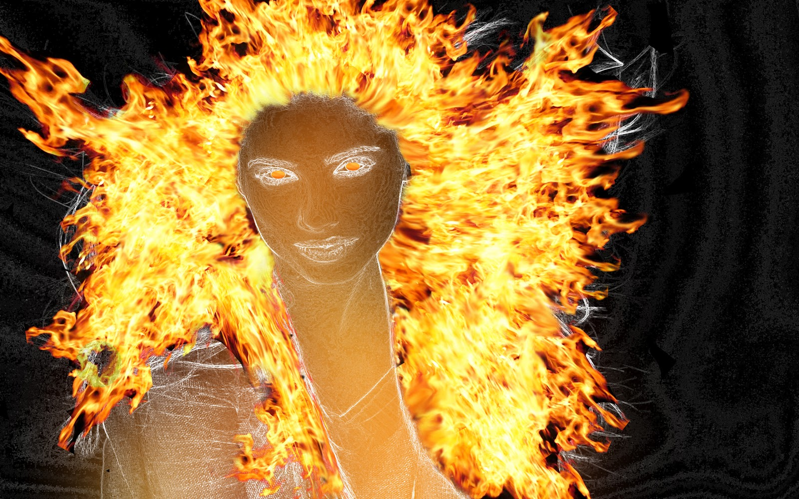 Super Photoshop tutorials: Photoshop cs6 Fireglow demon ...