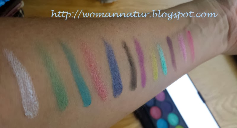 Sleek Candy Swatches