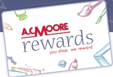 Join ACMooreRewards.com Rewards Program For A $10 reward