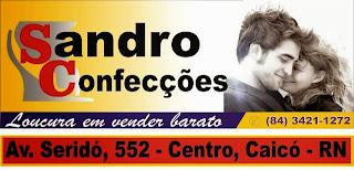 Venha Conferir as Novidades da loja Sandro Cofecções