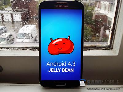 Vaza Build final do Android 4.3 para Galaxy S4