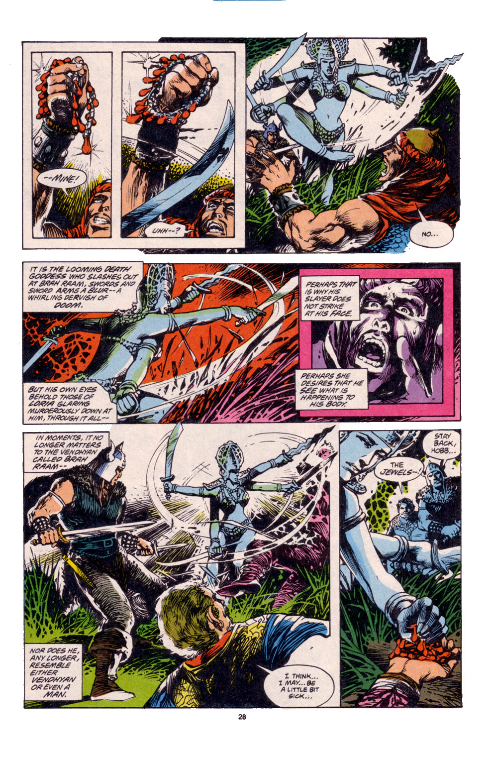 Conan the Barbarian (1970) Issue #261 #273 - English 21