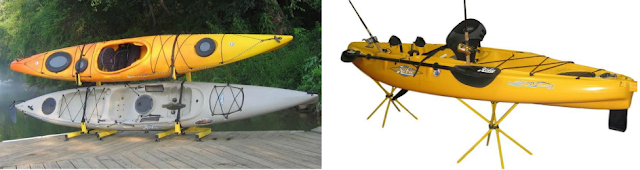 rack for fishing kayak