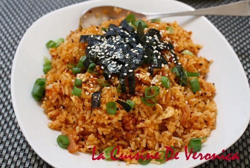 La Cuisine De Veronica 韓國泡菜炒飯 Kimchi Bokumbop