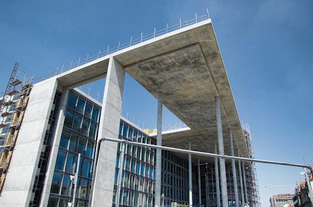 Baustelle Erweiterung Marie-Elisabeth-Lüders-Haus, Luisenstraße 29/30, 10117 Berlin, 04.07.2014
