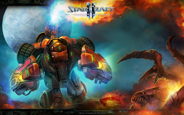 Hellbat - StarCraft II : Heart of the Swarm