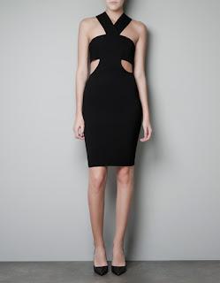 zara siyah elbise ve abiye modeli
