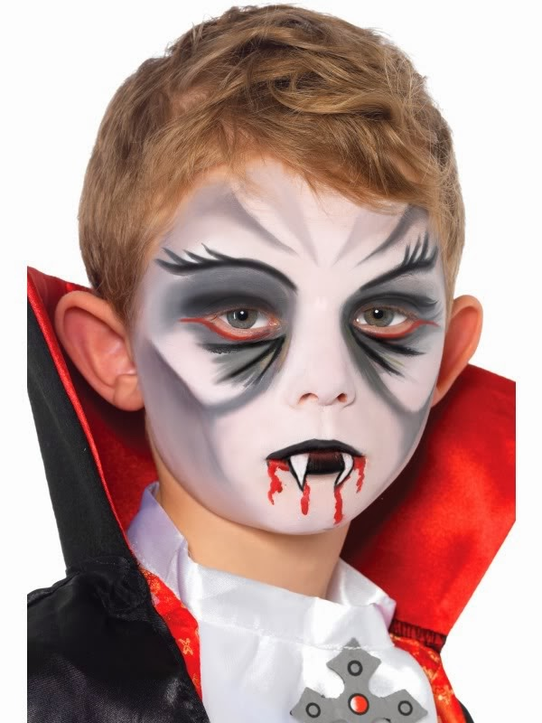 Multinotas halloween maquillaje ni os - Maquillage halloween facile garcon ...