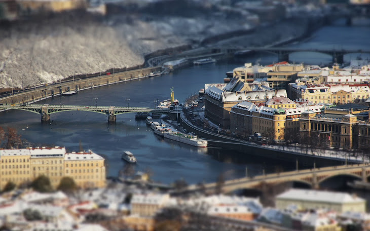 Prague in Tilt Shift