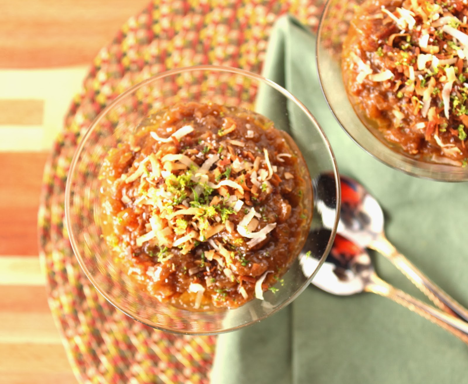 Kudos Kitchen By Renee - Caramelized Sticky Rice Pudding with Coconut and Lime Recipe