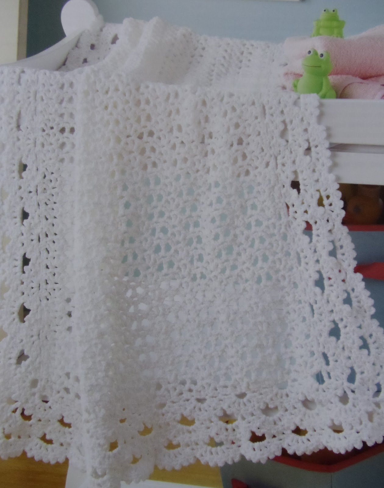 Everyday Life at Leisure: Crochet Baby Afghan Patterns for a Gift