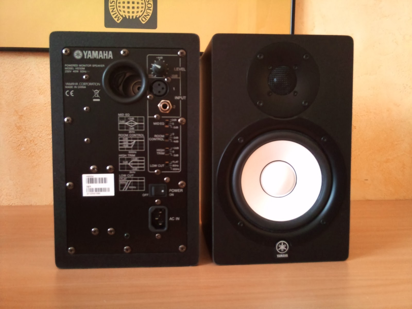 Producer guide yamaha hs50m active studio monitor for Yamaha hs50m review